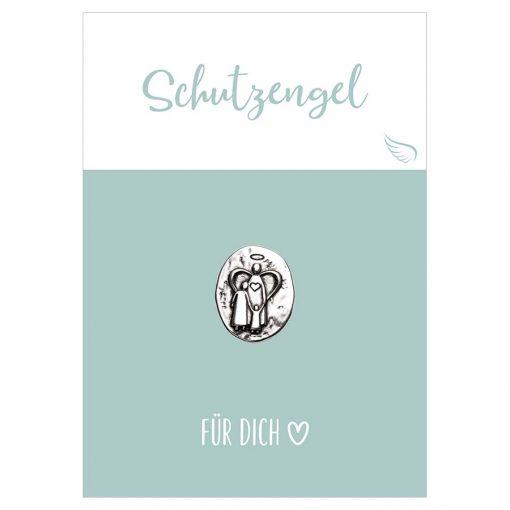 Handschmeichler Schutzengel für dich mit einer Münze aus Metall mit Engel